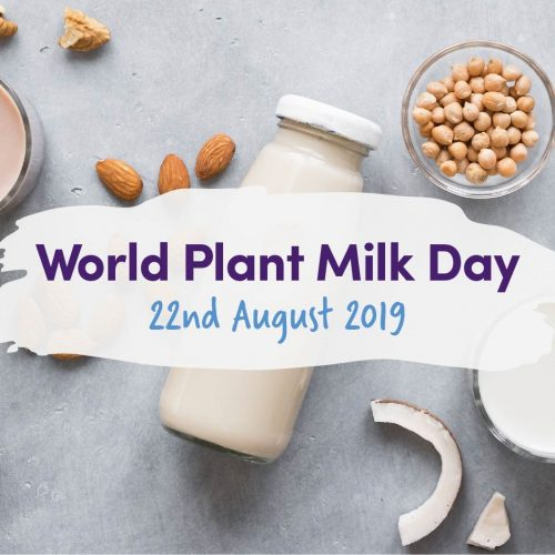 World Plant Milk Day – 22nd August 2019