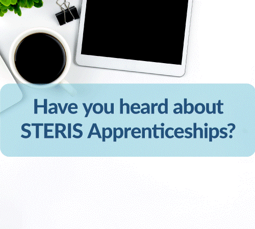 Psst… Have you heard about STERIS Apprenticeships?
